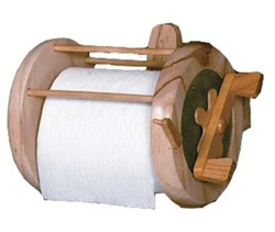Rivers edge fishing reel toilet paper holder for Fishing reel toilet paper holder