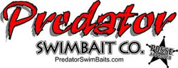"Predator Series 5""  Swimbait"