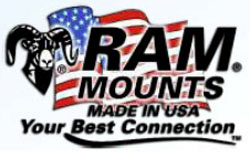 RAM® Double Ball Mount for Lowrance Hook² Series
