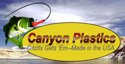 "Canyon Plastics 3.5"" Zipper Grub"